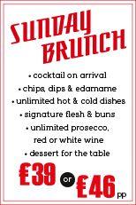 sunday brunch at flesh and buns | Flesh & Buns