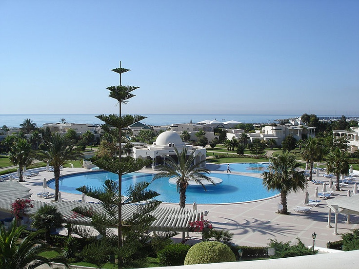 This is one of the most beautiful resort in North Africa.