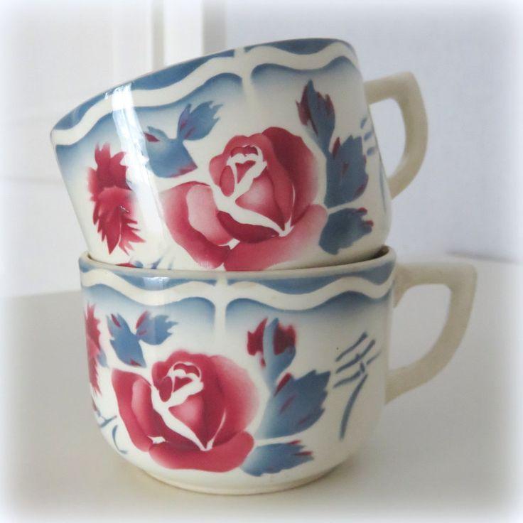 Mes 2 tasses Digoin préférées...