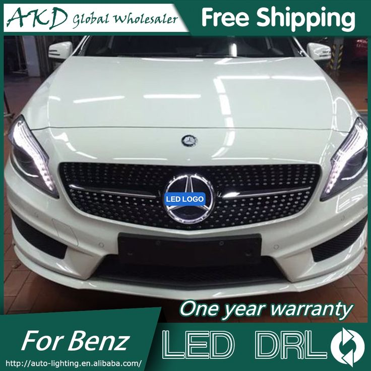 74.51$  Watch here - http://aliyis.shopchina.info/go.php?t=32812451854 - AKD Car Styling for Mercedes Benz GLC Class GLC200 LED Star Light DRL FRONT GRILLE LED LOGO Emblem Daytime Running light 74.51$ #magazineonlinebeautiful