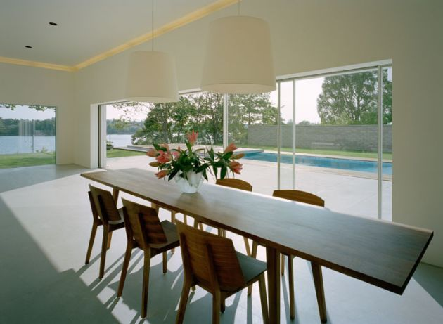 Jonas Lindvall A&D have designed the Villa M2 in southern Sweden - #diningroom