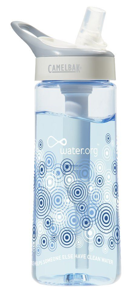 water purifiers for travel - camelbak groove filtered water bottle