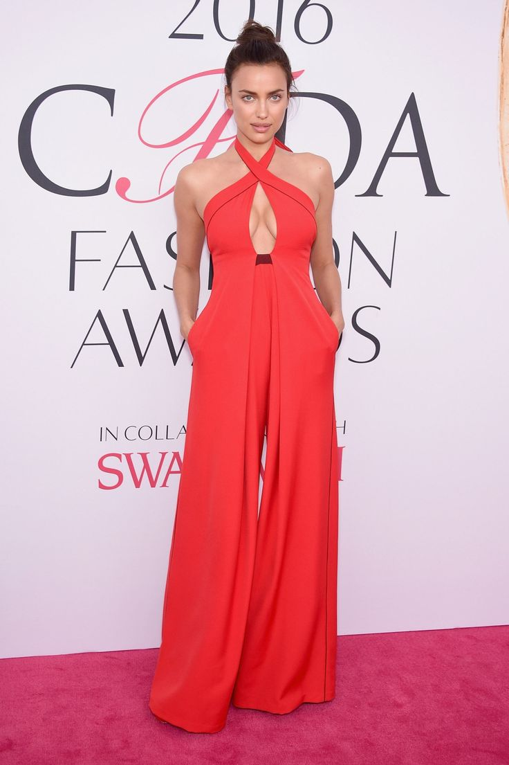 See All the 2016 CFDA Awards Red-Carpet Looks -- Irina Shayk