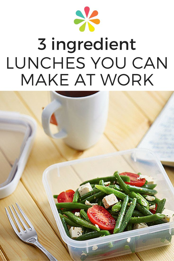If you only have time to grab three ingredients on your way out the door, you'll have the makings of a delicious and nutritious lunch — here are some tasty combos to get you started. #healthyrecipes #healthylunch #brownbaglunch #everydayhealth | everydayhealth.com