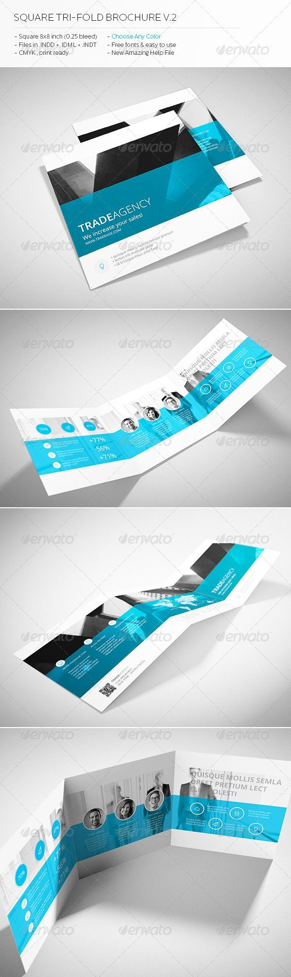 one fold brochure template - 17 best images about report cover design on pinterest