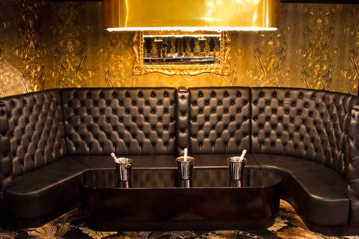 Stylish banquette seating and nightclub furniture by Fitz Impressions at Pryzm, Bristol.