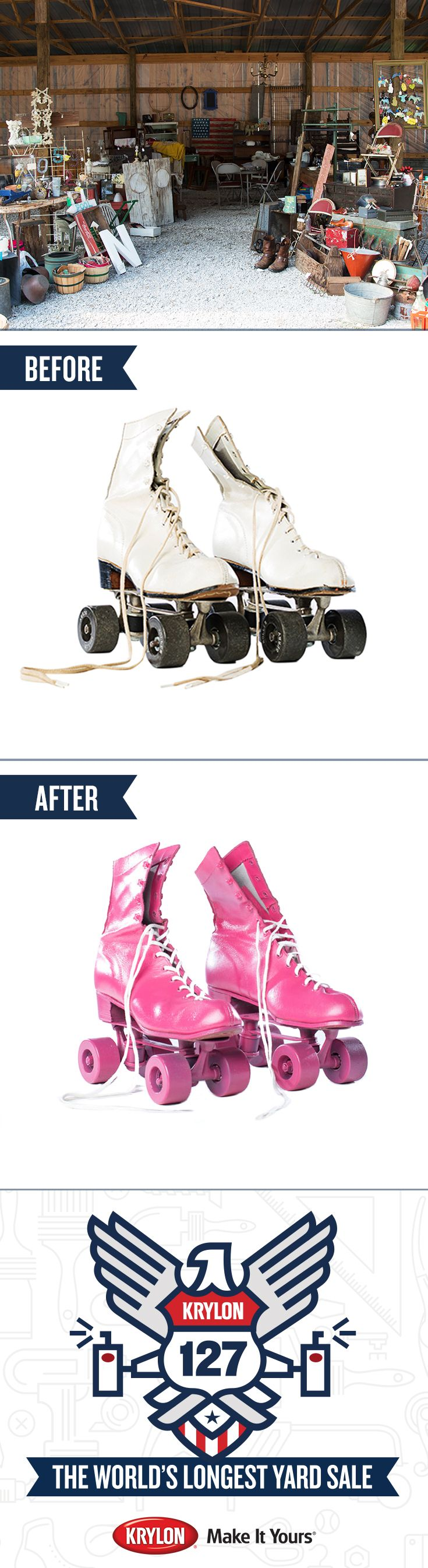 Roller skates for sale dubai - You Re Invited To The First Ever Pinterest Yard Sale We Did The Leg