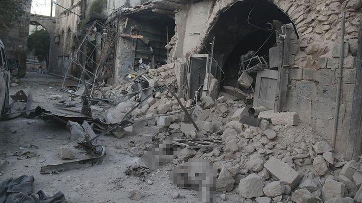 Pesawat perang targetkan toko roti di Aleppo tewaskan 6 orang  ALEPPO (Arrahmah.com) - Enam warga sipil tewas dan lima orang lainnya luka-luka pada Rabu (28/9/2016) oleh serangan udara yang menargetkan sebuah toko roti di kota barat laut menurut sumber pertahanan sipil.  Babiris Meshaal seorang pejabat pertahanan sipil yang berbasis di Aleppo mengatakan kepada Anadolu bahwa pesawat perang itu menyerang sebuah toko roti di darerah Maadi di saat orang-orang sedang mengantre untuk membeli roti…