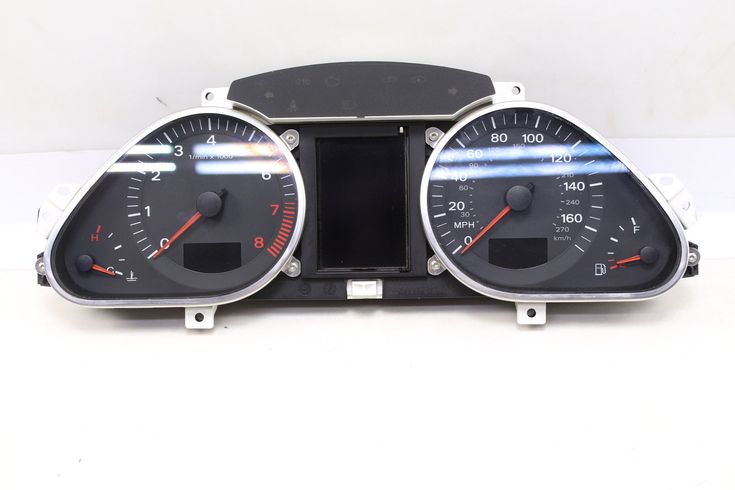 awesome Great 2007 2008 2009 AUDI Q7 4L - INSTRUMENT CLUSTER / SPEEDOMETER 2018