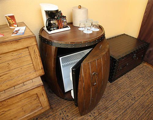 Man Table Mini Refrigerator End Table ~ Best images about mini fridg on pinterest