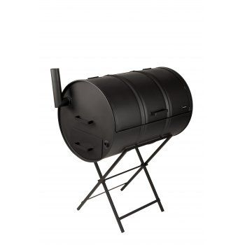 Drumbecue Charcoal barbecue oil drum bbq