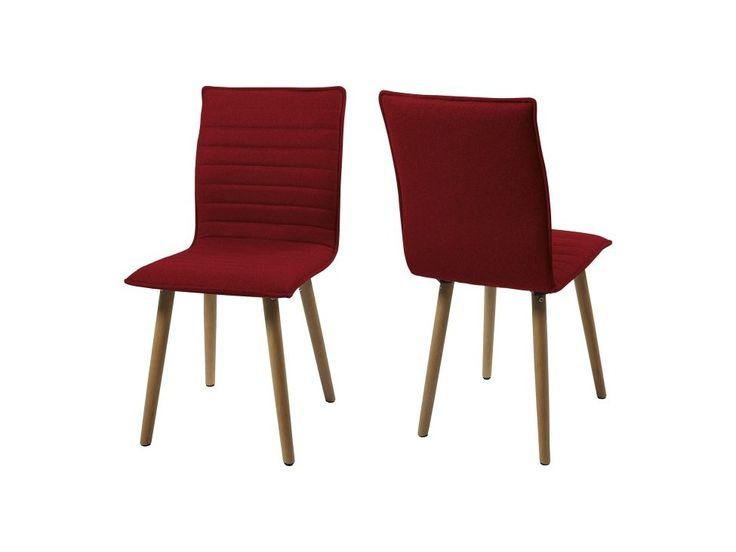 Krzesło Karla czerwone — Krzesła Actona — sfmeble.pl