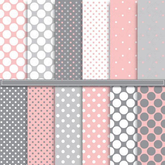 Check out Polka Dot Digital Paper Pack by YenzArtHaut on Creative Market