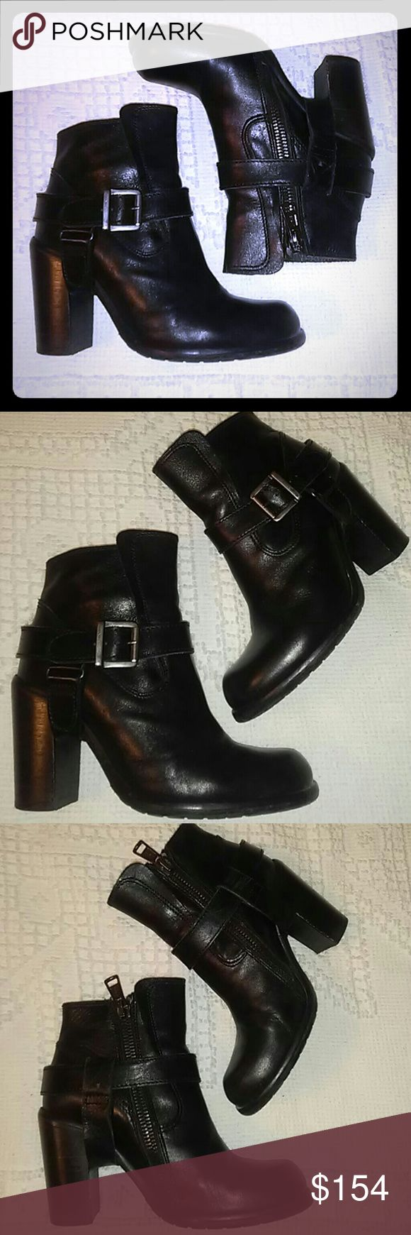 ALL SAINTS Jules Biker Moto Ankle Boots Sz38 EUC. I typically wear size 7.5 All Saints Shoes Ankle Boots & Booties
