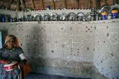 kutch mud huts | Lions, Textiles and Art - Continuing Love Affair with India!