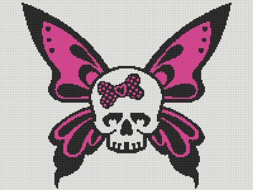 Butterfly Skull Standards WCs