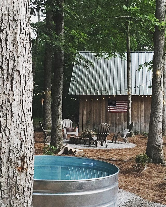My husband made a Country Swimming Pool out of a Tractor Supply stock tank!