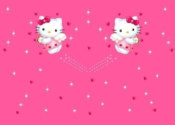 Moving 3d Hello Kitty Screensaver Free Photo Wallpapers
