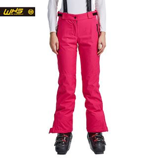WHS new Women skiing pants brands Outdoor Warm Snowboard trouser female waterproof snow trousers ladies breathable sport pant (32746421769)  SEE MORE  #SuperDeals