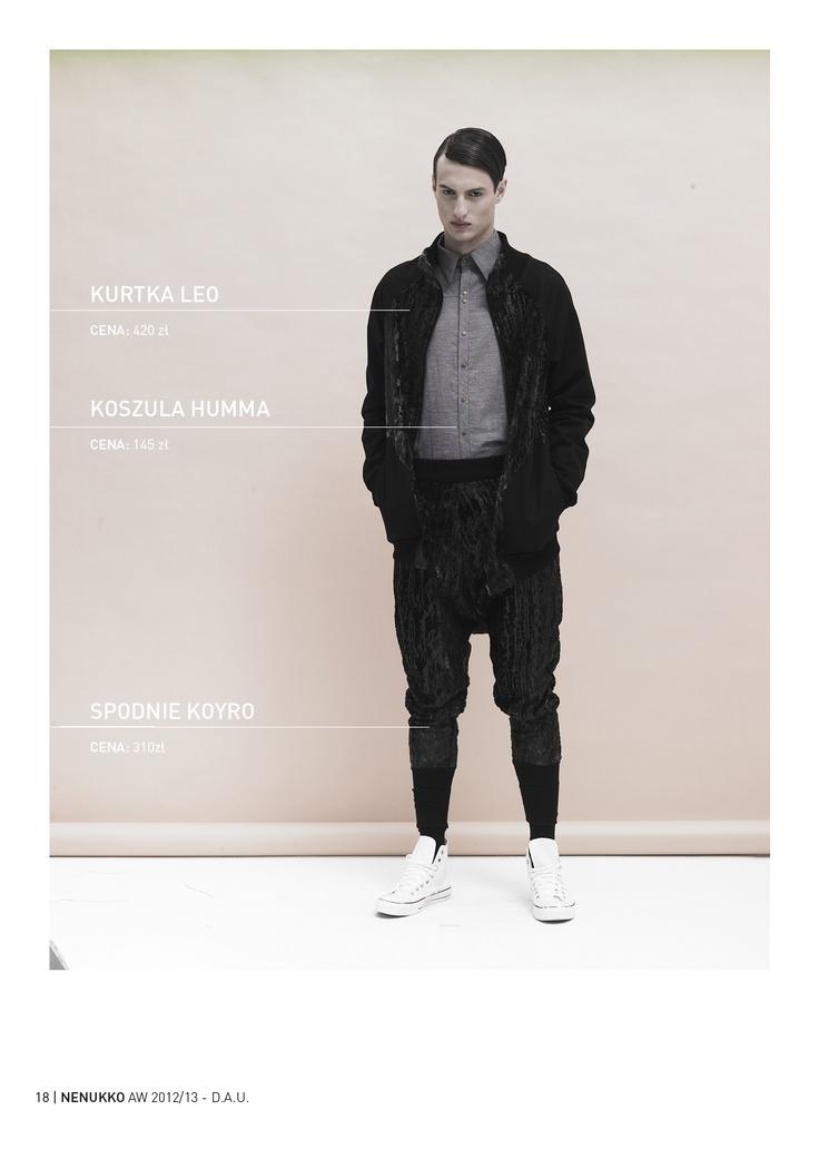 LEO jacket HUMMA shirt KOYRO trousers D.A.U. collection   http://nenukko.com/shop/