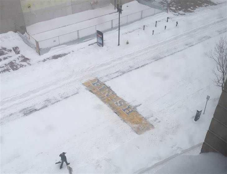 Why mystery man shoveled Boston Marathon finish line: 'It holds a special place' in our hearts