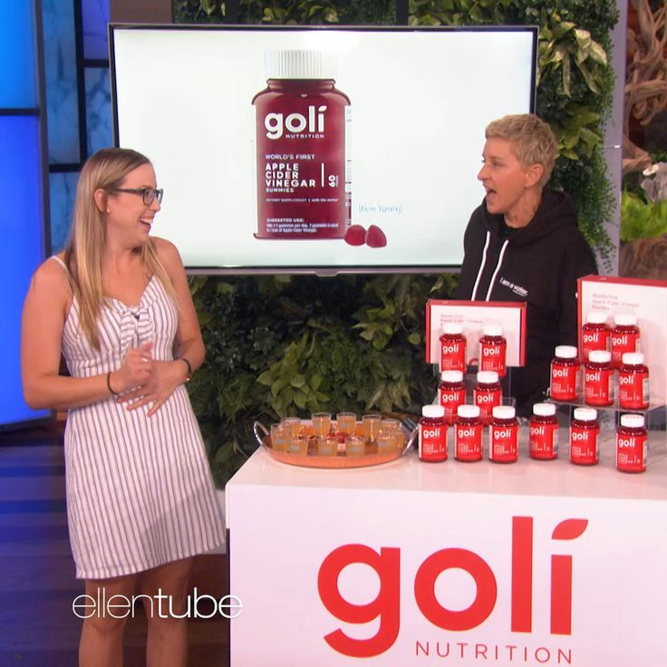 Did you see goli on the ellen degeneres show use code