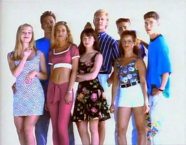 Beverly Hills 90210 season 2 opening credits! watching on soapnet now. LOVE!