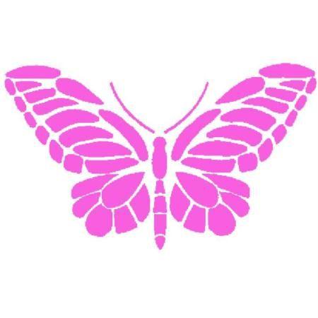 Les 25 meilleures id es de la cat gorie pochoir papillon for Acheter pochoir mural