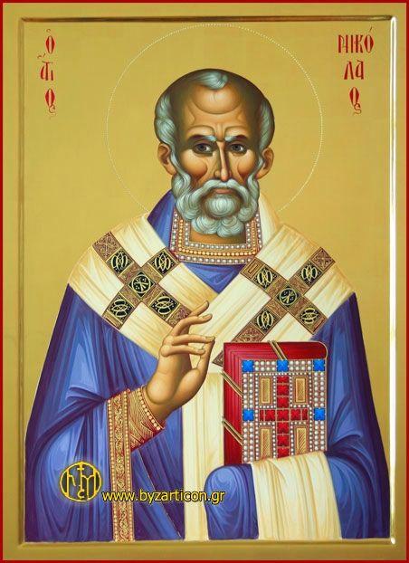 http://www.byzarticon.gr/   Николай Чудотворца, Saint ...