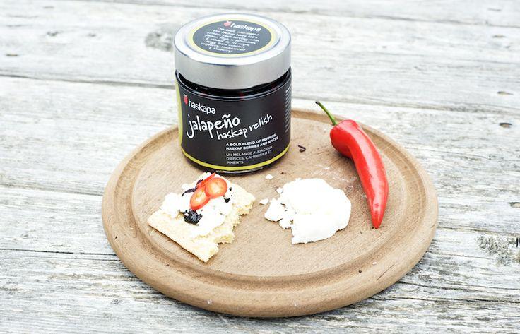 haskapa Jalapeño relish - spice up your life!
