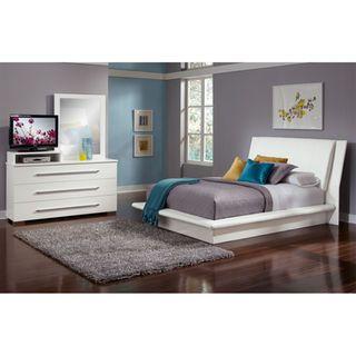 Dimora White 5 Pc Queen Bedroom Value City Furniture