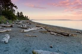Mt. Douglas Park features hiking trails, a beautiful beach and a lookout at the peak offering a great view of the Victoria area. http://www.saanich.ca/parkrec/parks/mt-doug/about.html