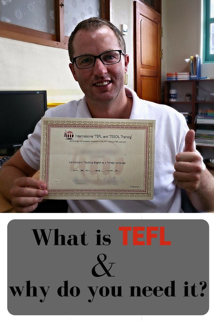 What is TEFL and why do you need it to teach in South Korea.