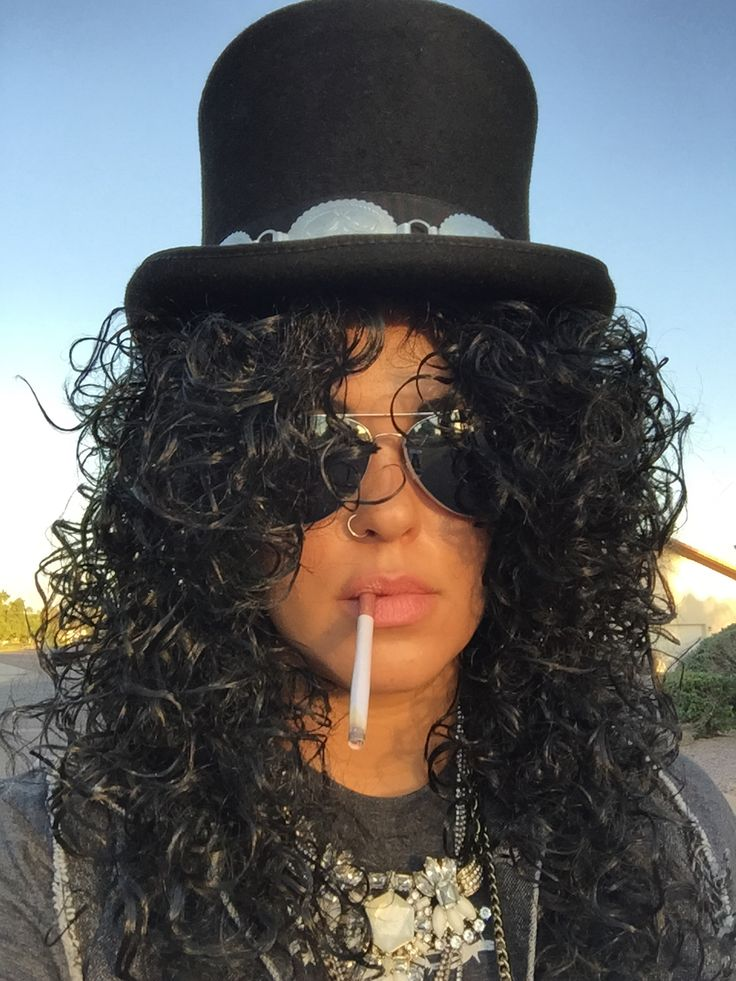 Slash from Guns N' Roses Halloween Costume