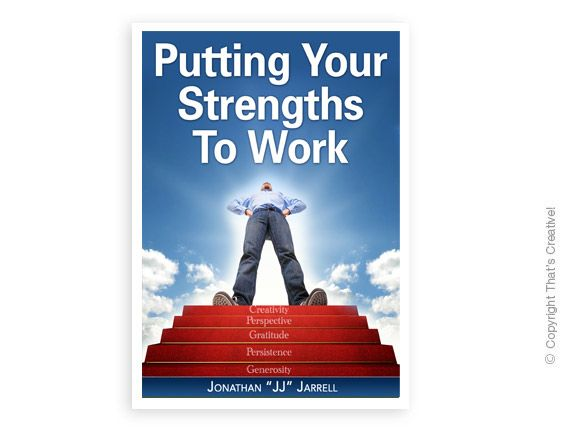Putting Your Strengths To Work Ecover Design  (Ebook Cover Design) by www.thatscreativeebookdesign.com.