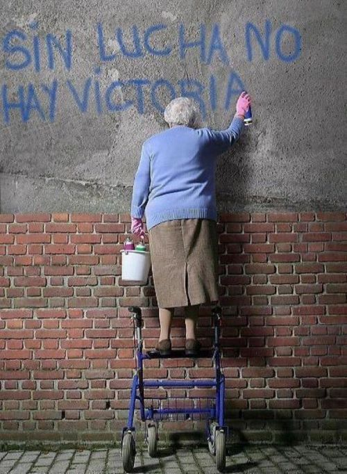 """No Fight, No Victory"""