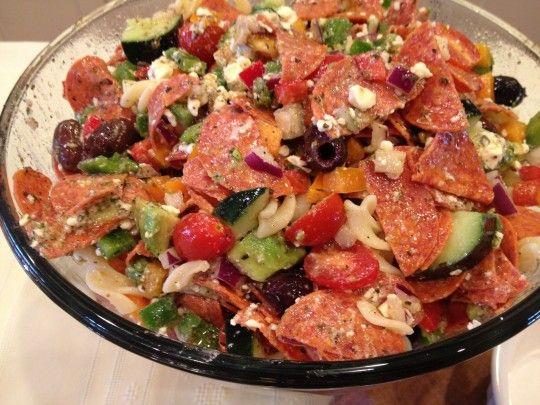 Greek Pasta Salad | Recipes | Pinterest