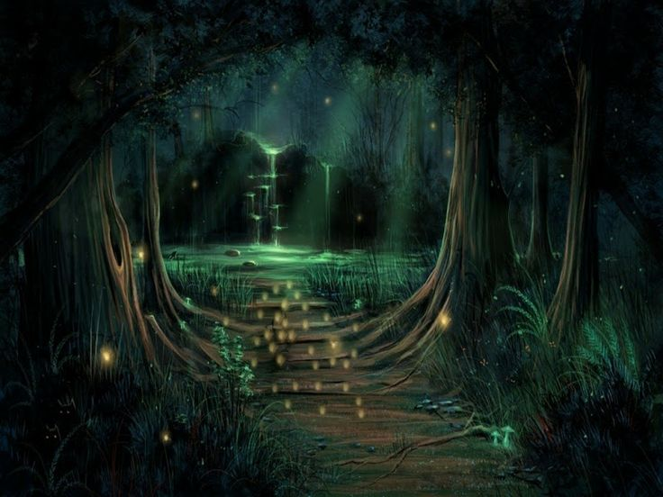 7 Best Enchanted Forest Images On Pinterest Dark Fairies