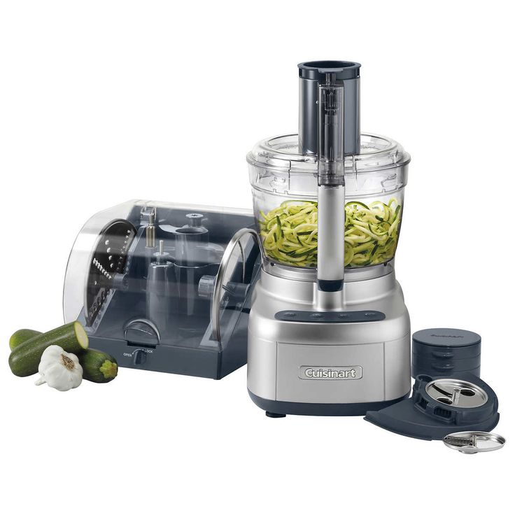 Cuisinart elemental 13cup food processor with spiralizer