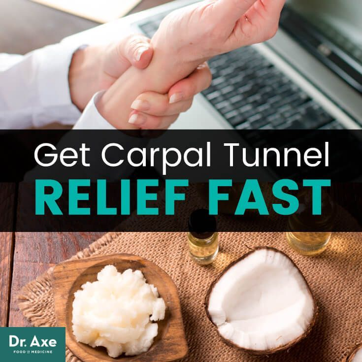 Get carpal tunnel relief fast   https://draxe.com/carpal-tunnel-relief/