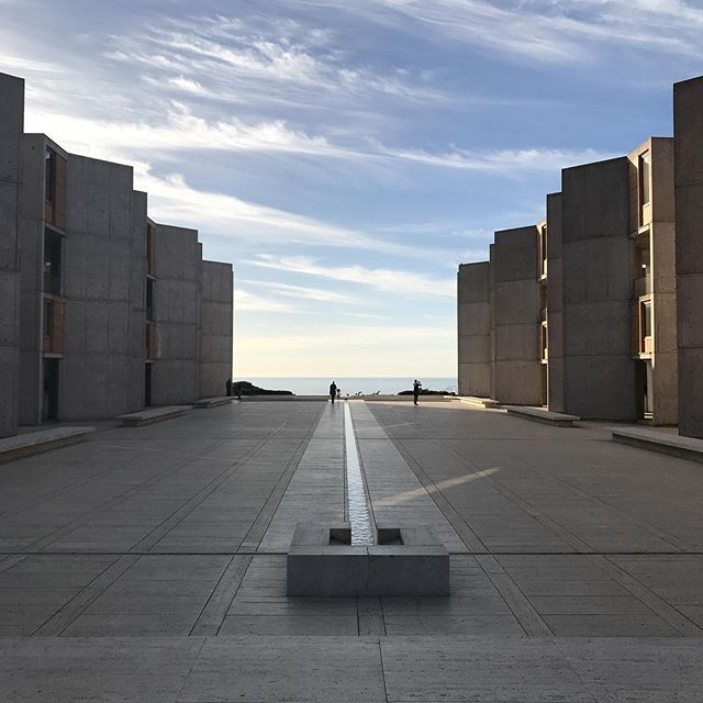 This place is so cool! #sandiego #lajolla #salkinstitute #lajollalocals #sandiegoconnection #sdlocals - posted by Eddie Campos  https://www.instagram.com/egcampos83. See more post on La Jolla at http://LaJollaLocals.com