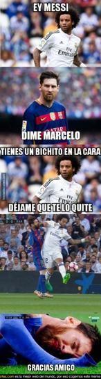 Los memes del Real Madrid- FC Barcelona #futbolmemes
