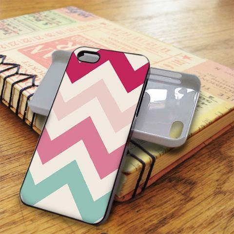 Colour Chevron iPhone 5C Case