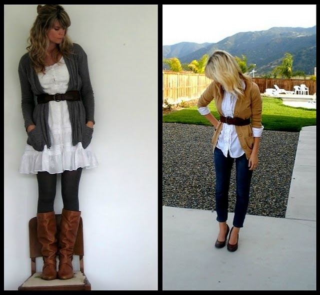 Lovin Fall Clothes: Fall Clothing, Summer Dresses, Dresses Outfit, Fall Time, Belts Cardigans, Fall Outfit, Fall Fashion, The Dresses, Lovin Fall