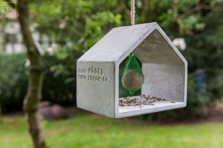 räder Futterhaus Freiluft aus Beton Vogelhäuser Haus und - haus und garten