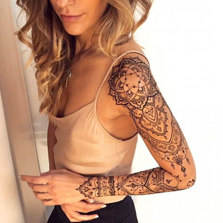Bien connu Les 25 meilleures idées de la catégorie Manchette tatouage femme  YM82