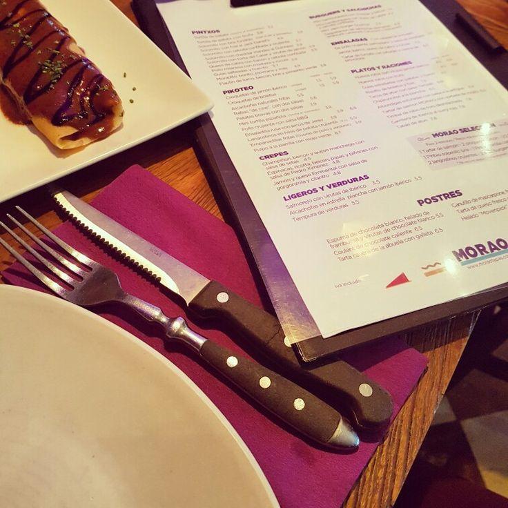 #cenandoconangela #moraotapas #restaurantesdemadrid