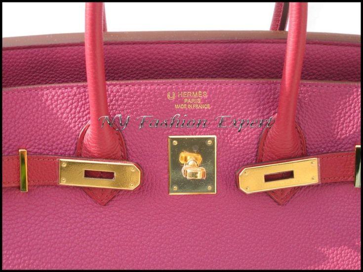 Special Order Birkin Bi-Color Size: 35cm Colors: Tosca/Rubis ...