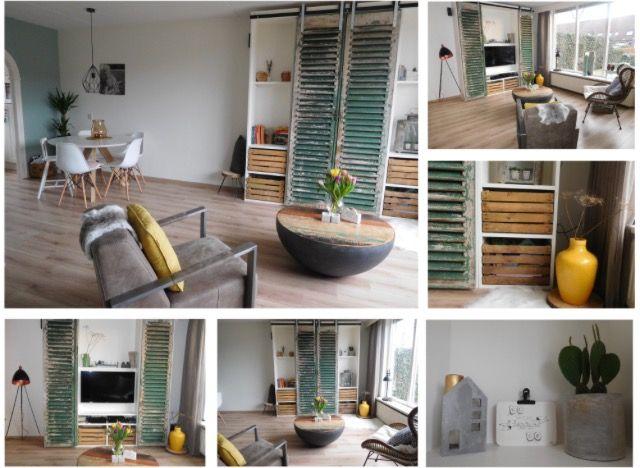 Verliefd op onze eigen huis!! Inspiratie van @vtwonen #woonkamer ...