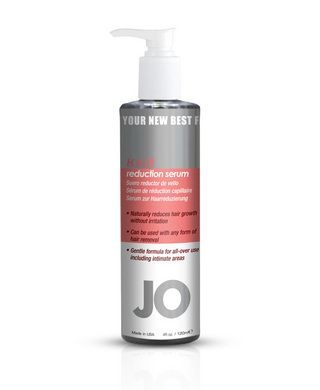 Jo Hair Reduction Serum-This daily use serum slows hair growth and makes hair lighter and thinner just in 2 weeks. Perfect for legs underarms face body amd intimate areas. For men and women